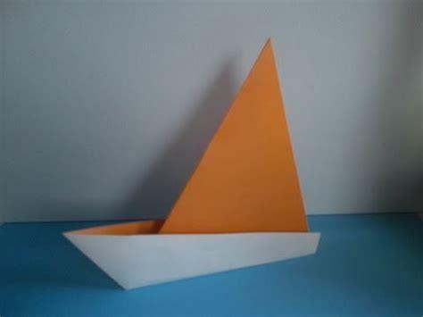 Origami Catamaran - origami sailboat c 243 mo hacer un barquito de papel en