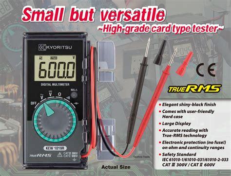 Multimeter Multi Tester Digital Pocket Kyoritsu 1018 kyoritsu malaysia tools equipment distributor
