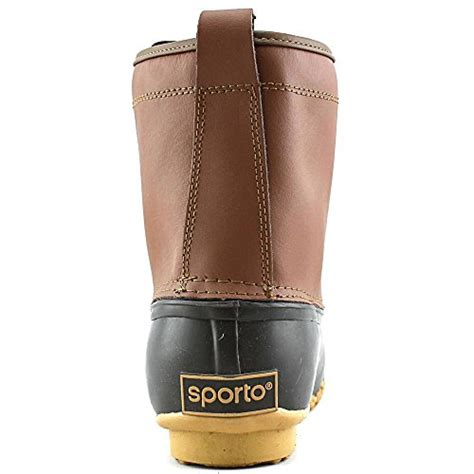 mens sporto boots sporto s dennis duck boot ab ankle boot us store