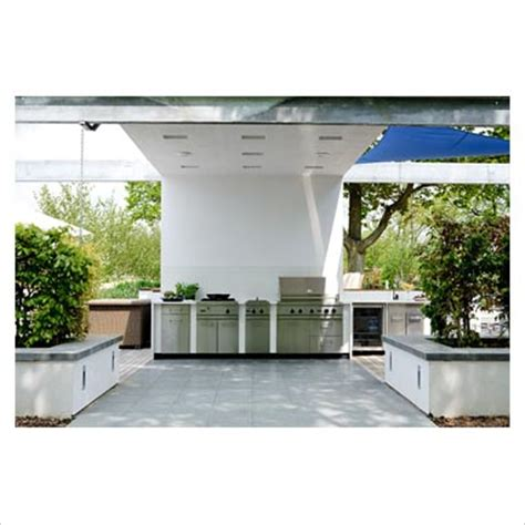 contemporary outdoor kitchen gap interiors large modern outdoor kitchen picture