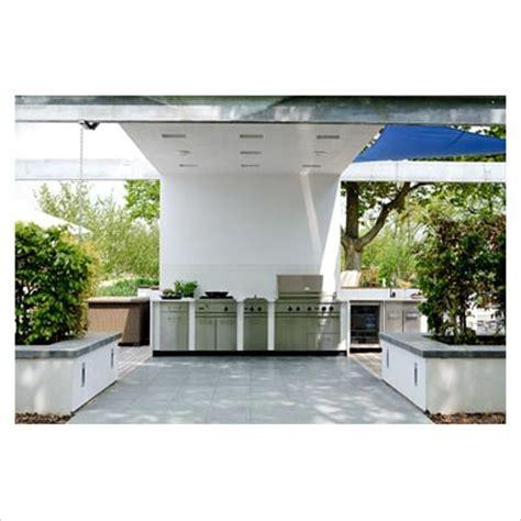 modern outdoor kitchen gap interiors large modern outdoor kitchen picture