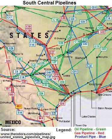 oil pipeline map oklahoma – bnhspine.com