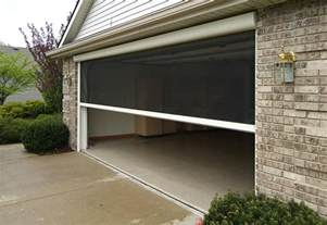the benefits of a garage door screen r s of concord