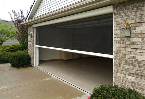 R S Overhead Doors Retractable Screen Garage Door Motorized Wageuzi