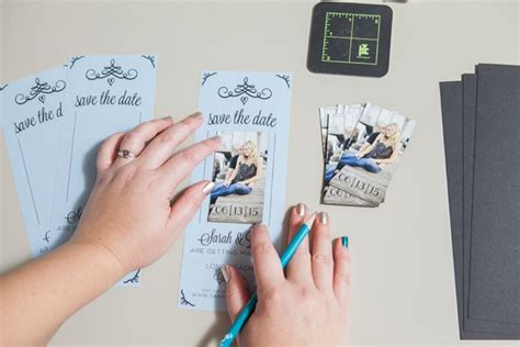 Wedding Invitations Magnet by Learn How To Easily Make Your Own Magnet Save The Dates