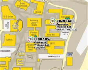 Cal State La Campus Map by Training Labs California State University Los Angeles