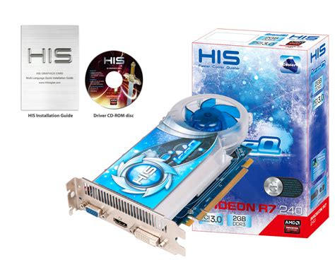 Vga R7 250 2gb Ddr5 his r7 240 iceq 2gb ddr3 pci e hdmi sldvi d vga