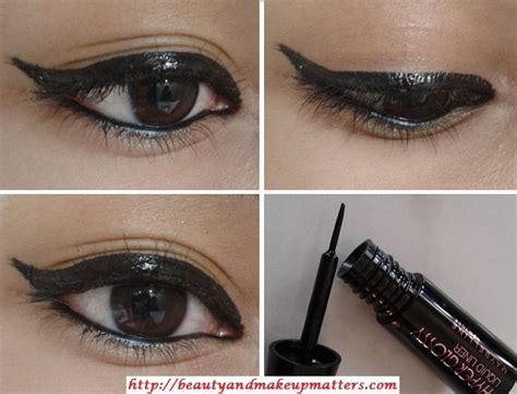 maybelline hyper glossy liquid liner black review