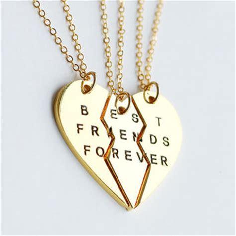shop 3 best friends necklace on wanelo