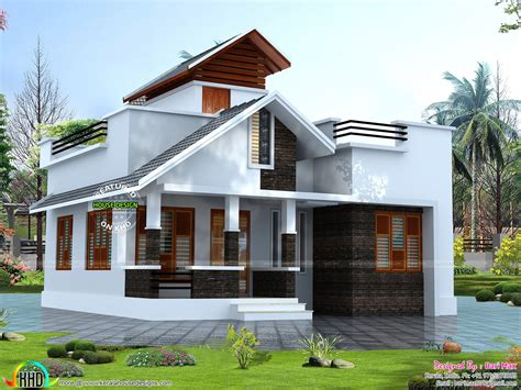 kerala home design 15 lakhs 20 lakhs budget house plans in kerala