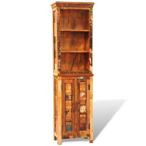 estante para livros de madeira estante de livros de madeira recuperada www vidaxl pt