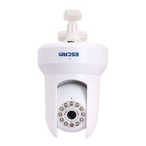 Escam Qf002 Wireless Ip Cctv 14 Inch Cmos 720p Putih escam cat qf300 wireless ip cctv for android and