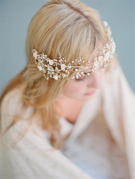 Wedding Hair For Glasses by 11 Wedding Hair Accessories Pretty Hair Accessories For