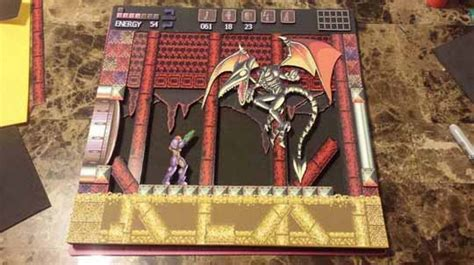 Metroid Papercraft - wuppes 3d papercraft artworks are amazing