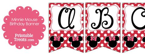printable minnie mouse birthday banner free printable minnie mouse bunting banner letters n z