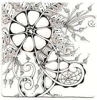 zentangle pattern zinger shelly beauch certified zentangle teacher blended