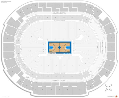 american airlines seating options dallas mavericks seating guide american airlines center