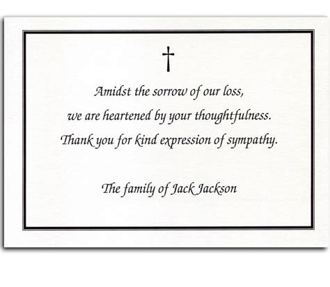 Quotes For Thank You Cards For Funeral