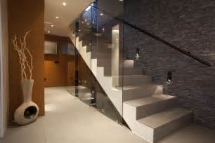 Stair Handrail Lighting 33 Flamboyant Modern Staircase Designs