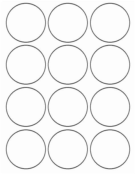 2 inch circle label template avery labels 22807 template choice image template