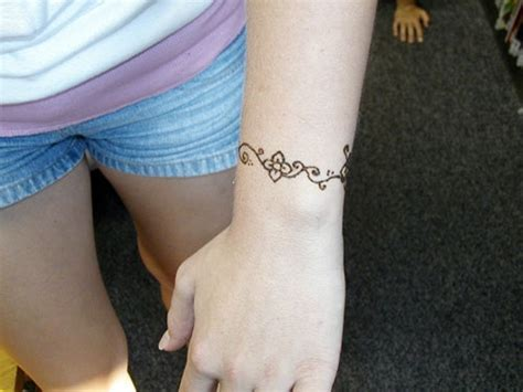 arm bracelet tattoo designs 43 henna wrist tattoos design
