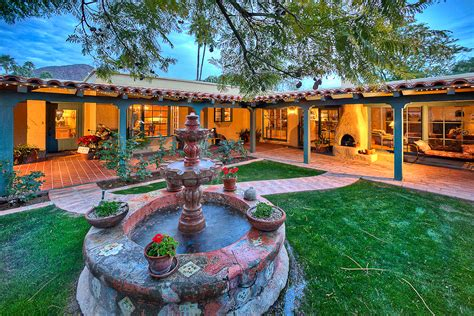 Spanish Courtyard House Plans phoenix real estate photography arcadia