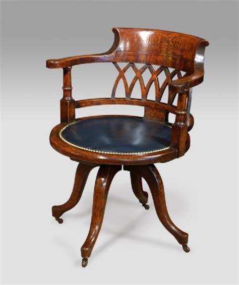 Captains Chair Nineteenth Century Oak Captains Chair 280142