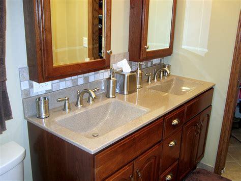 Custom Bathroom Countertops by Custom Bathroom Cabinets Custom Laminate Countertops Sinks E Z Kitchens