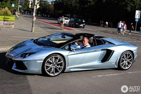 Lamborghini Aventador LP700 4 Roadster   6 September 2013