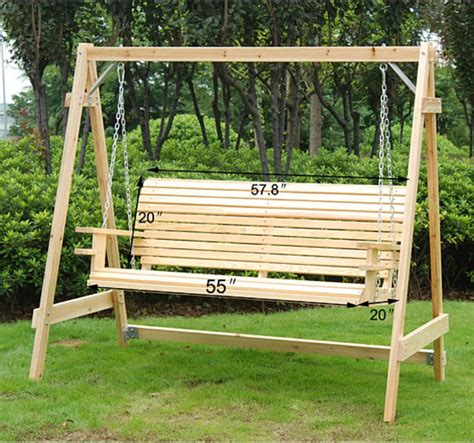 wooden porch swing kits wood porch swing design ideas jbeedesigns outdoor