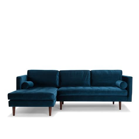 1 seater corner sofa bussi corner sofa 3 seater in petrol blue me and my trend
