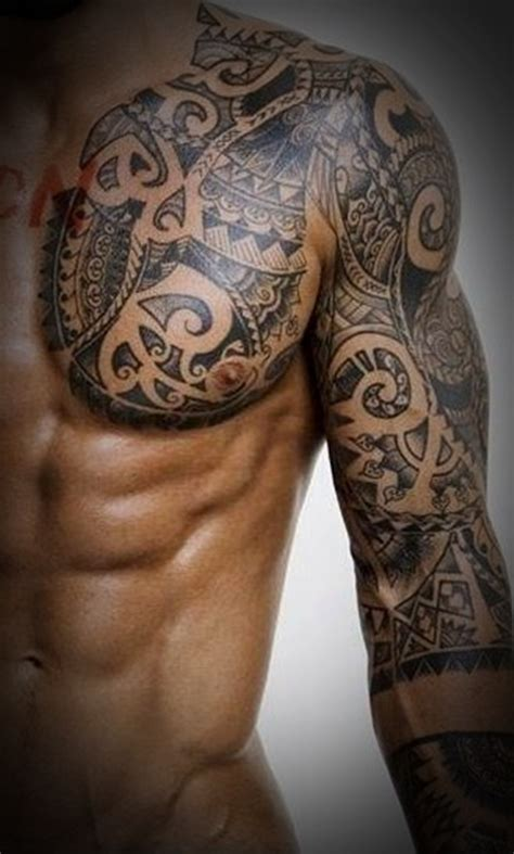 tribal tattoo designs for men chest 50 best tribal designs for and
