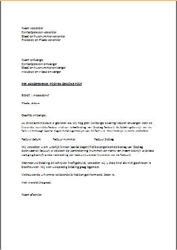 Zakelijke Brief Engels engelse voorbeeldbrief cv maken 2018