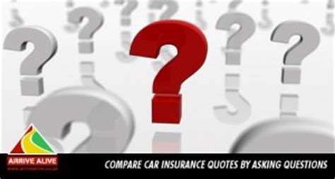 Car Insurance Questions by Compare Car Insurance Quotes By Asking Questions Car