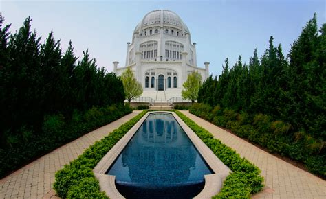 baha i house of worship baha is dedicate new welcome center at america s only baha i house of worship world