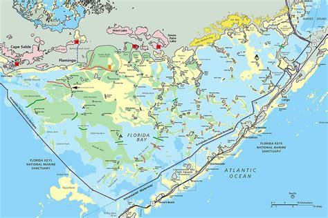 everglades national park map everglades national park