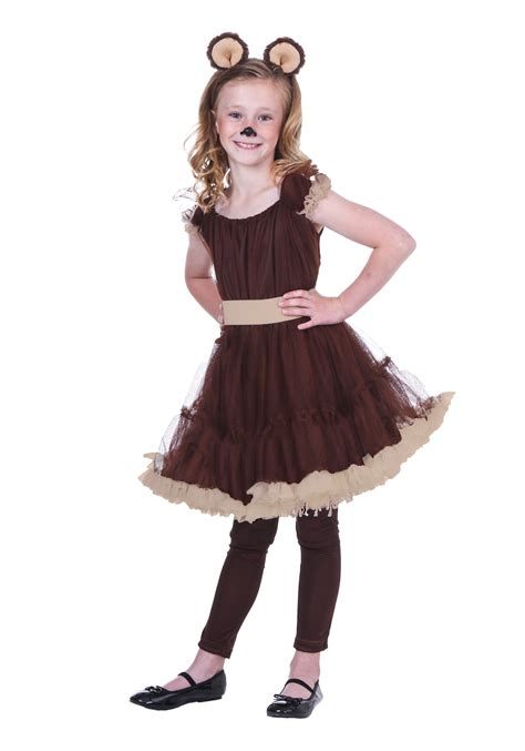 Scary Outdoor Halloween Decorations Child Girls Bear Costume