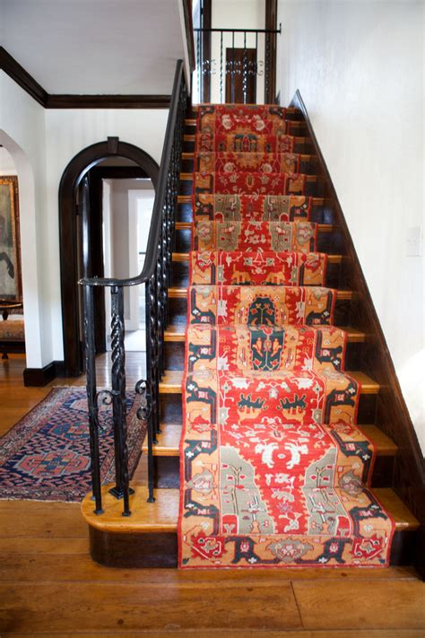 Rug On Stairs by 43 Cool Carpet Runners For Stairs To Make Your Safer