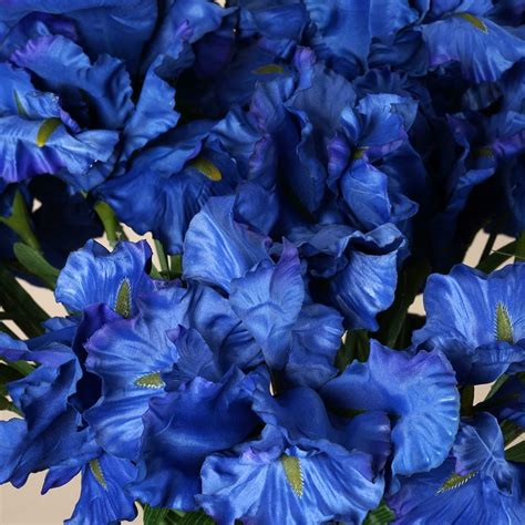 artificial centerpieces sale 4 large silk iris bushes 36 wedding artificial