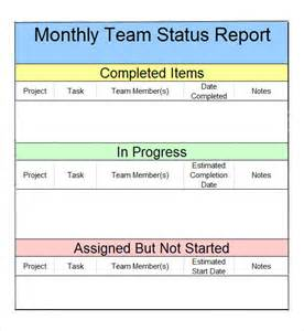 monthly business report template monthly report 7 free pdf doc sle templates