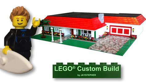 build a custom house custom build three bedroom two bath lego suburban home