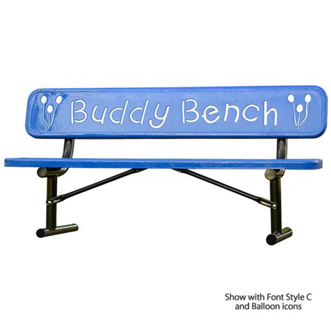 what is a buddy bench all buddy bench by ultraplay options outdoor furniture