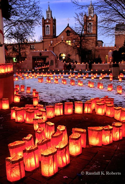 christmas luminary lights new mexico fourfancy magazine