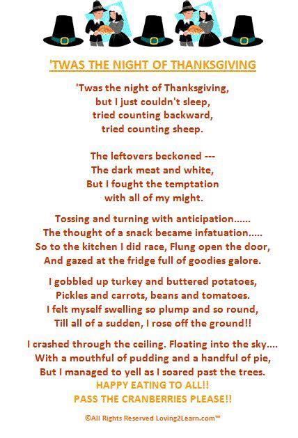 printable turkey poem best 25 thanksgiving poems ideas on pinterest