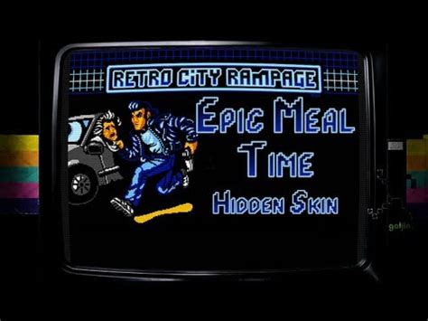 retro city rampage – epic meal time (arcade game