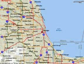 Map Of Chicago Area Airports by Chicago Map Free Printable Maps
