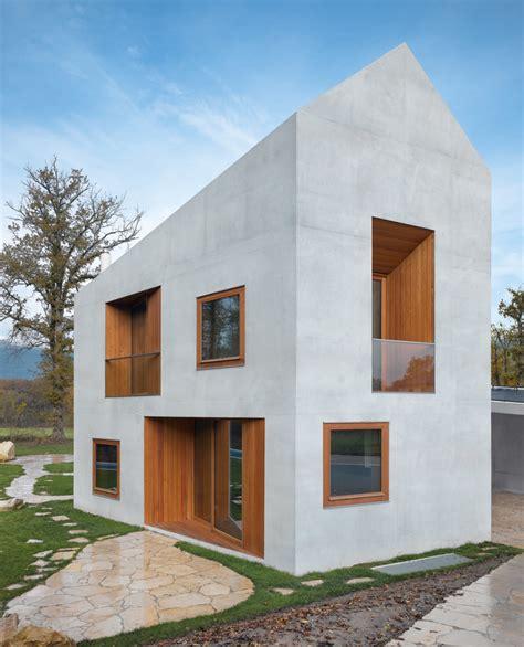 small home architecture urh 252 tte und villa ein modernes doppelhaus
