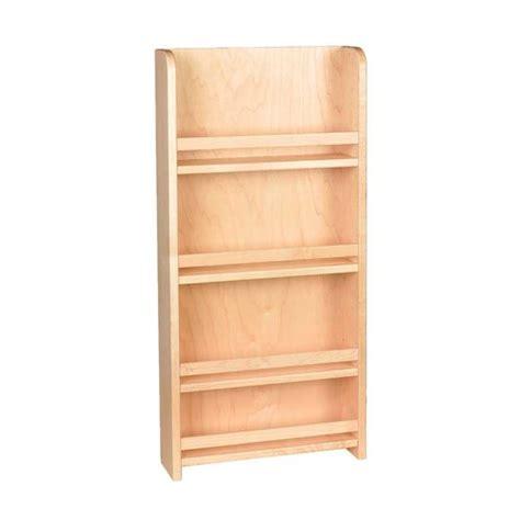 cabinet door mounted spice rack century components door mount spice rack 15 quot wide sras15pf