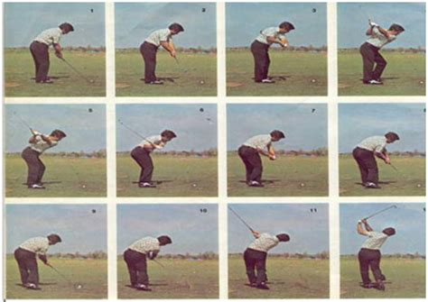 sam snead golf swing sequence the characteristics of the model swing precision