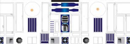 r2d2 build foam body wooden legs fibreglass dome